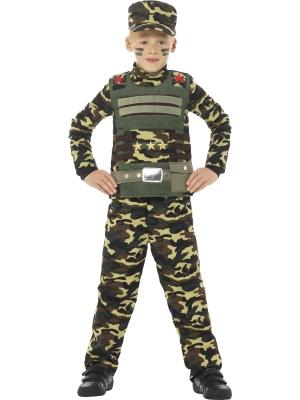 Kamuflāžas militārais kostīms