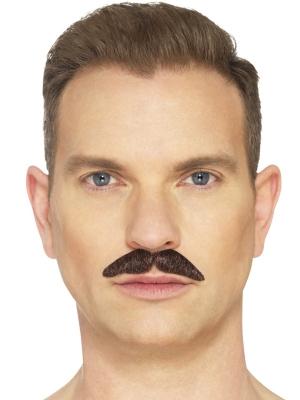Усы профессиональные, коричневые