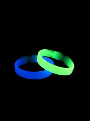 Wide Glow Bracelet, 20 cm