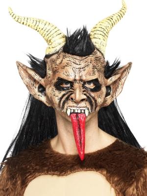 Маска зверя, демона Крампуса