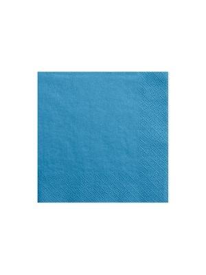 20 gab, Salvetes, tirkīza krāsā, 33 x 33 cm