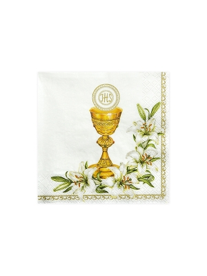 20 gab, Salvetes Kristībām, 33 x 33 cm