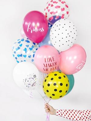 Hēlija uzpildīšana balonam 27/30cm bez HI-FLOAT