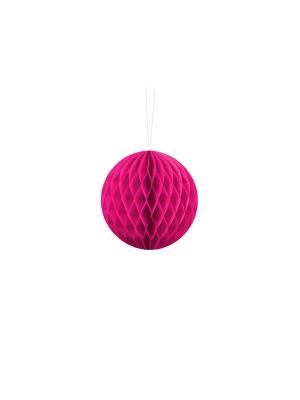 Papīra bumba, tumši rozā, 10 cm