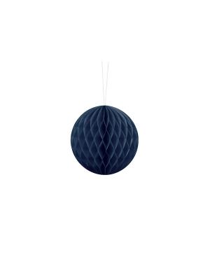 Papīra bumba, tumši zila, 10 cm