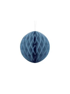 Papīra bumba, zila, 20 cm