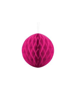 Papīra bumba, tumši rozā, 20 cm