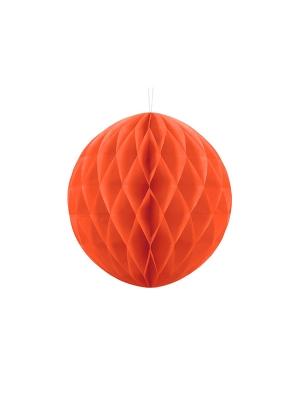 Papīra bumba, oranža, 30 cm