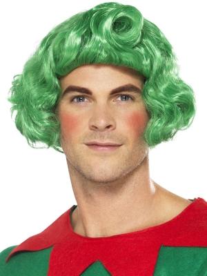 Парик Эльфа, зеленый