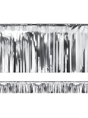 Lietutiņa virtene, sudraba, 18.5 x 400 cm