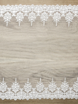 Lace, off-white, 0.45 x 9 m
