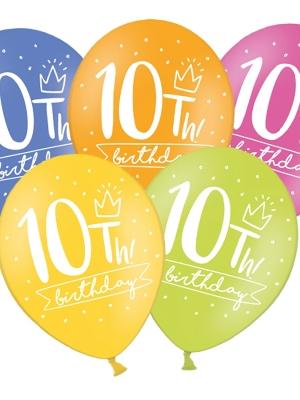 Balons 10 dimšanas diena, 30 cm