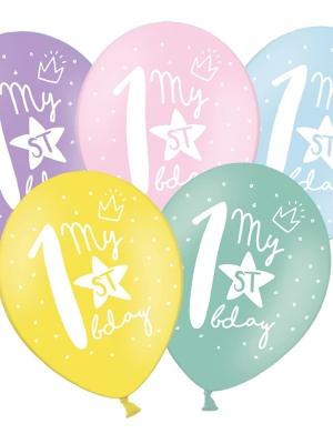 Balons 1 dzimšanas diena, 30 cm