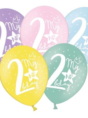 Balons 2 dzimšanas diena, 30 cm