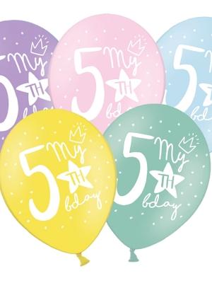 Balons 5 dzimšanas diena, 30 cm