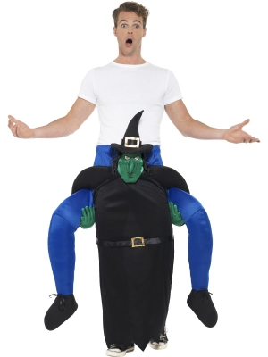Piggyback Witch Costume