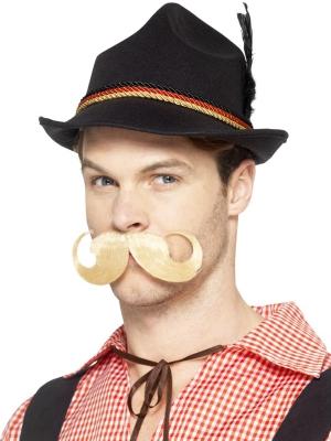 Баварская шляпа, черная