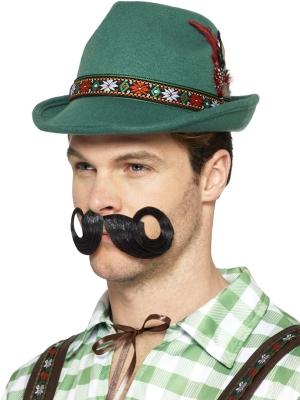 Баварская шляпа, зеленая