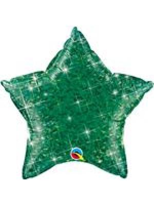 Hologrāfiski zaļa Zvaigzne, 50 cm