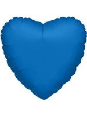 Metāliski zila Sirds, 81 cm