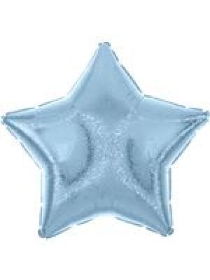 Zvaigzne pasteļa zila, 48 cm