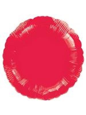 Metāliski sarkans Aplis, 45 cm