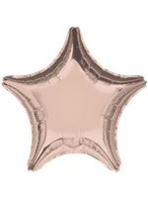 Zvaigzne sārta zelta, 45 cm