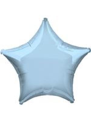 Metāliski maigi zila Zvaigzne, 48 cm