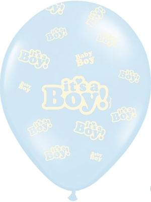 Balons Its a Boy!, gaiši zils, 30 cm