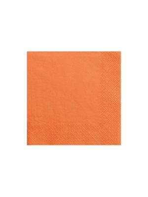 20 gab, Salvetes, oranžas, 33 cm x 33 cm