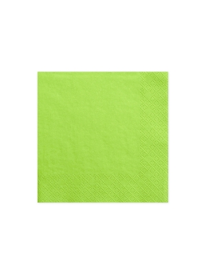 20 gab, Salvetes, gaiši zaļas, 33 cm x 33 cm