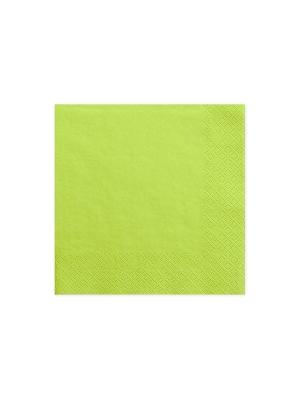 20 gab, Salvetes, zaļo ābolu krāsā, 33 cm x 33 cm