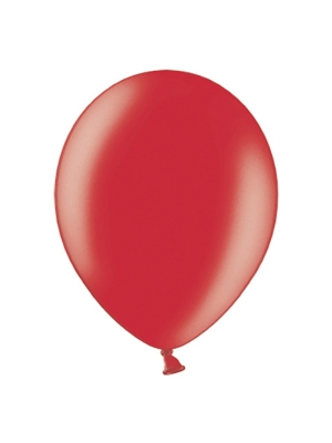 100 pcs, Balloons, red, 23 cm
