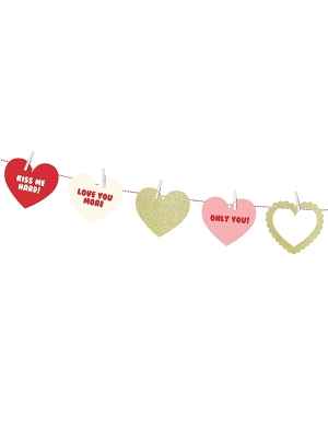 Garland Sweet Love, 9 cm x 110 m