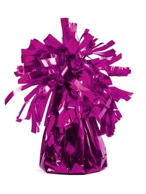 Foil balloon weight, dark pink, 130 gr
