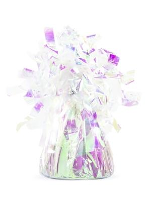 Foil balloon weight, iridescent, 130 gr