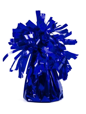 Foil balloon weight, royal blue, 130 gr