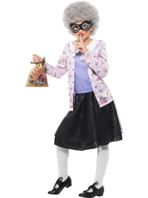 Gangstas vecmāmiņas kostīms