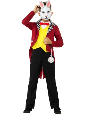 White Rabbit Costume, with Jacket