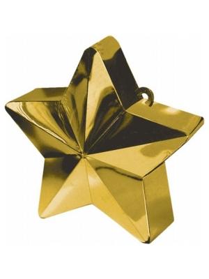 Balloon weight Star, gold, 170 g