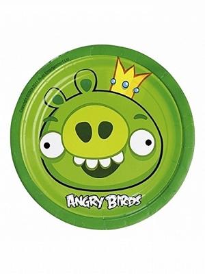8 gab, Šķīvīši Angry Birds, 17.7 cm