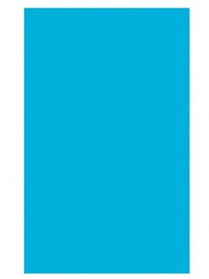 Plastikāta galdauts, zils, 137 x 274 cm