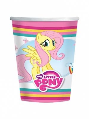 8 pcs, My Little Pony Paper Cups 266 ml