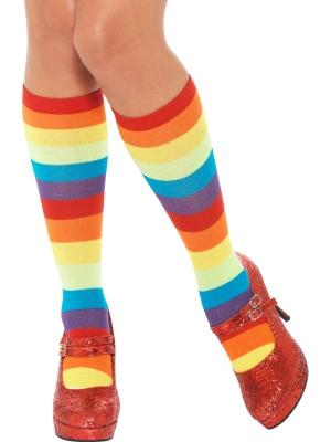 Носки клоуна, разноцветные