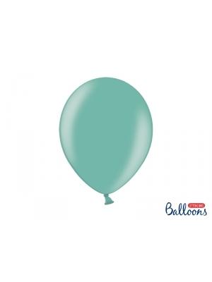 Perlamutra balons, zilganzaļš, 30 cm