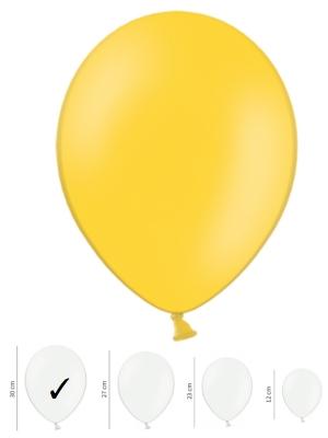 Пастельный шар, медово-жёлтый, 30 см