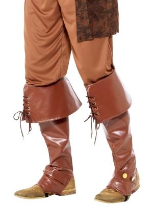 Гамаши, коричневые, высшее качество