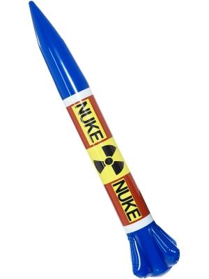 Piepūšama kodolieroču raķete, 87 x 13 cm