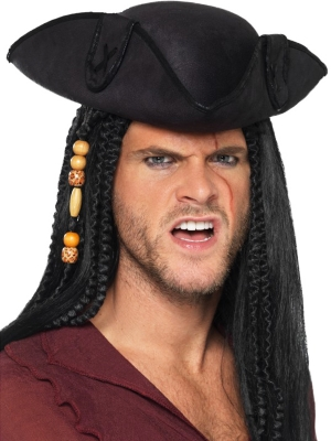 Tricorn Pirate Captain Hat