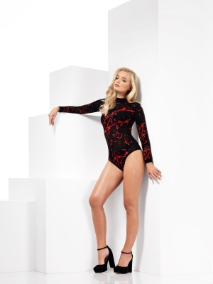 Opaque Bloody Bodysuit